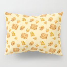 Android Eats: honeycomb pattern Pillow Sham