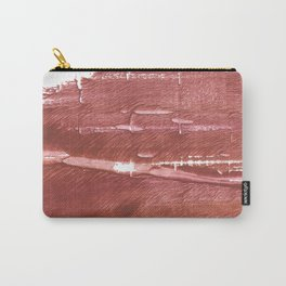 Red Brown nebulous wash drawing pattern Carry-All Pouch
