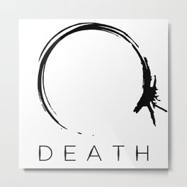 Arrival - Death Black Metal Print