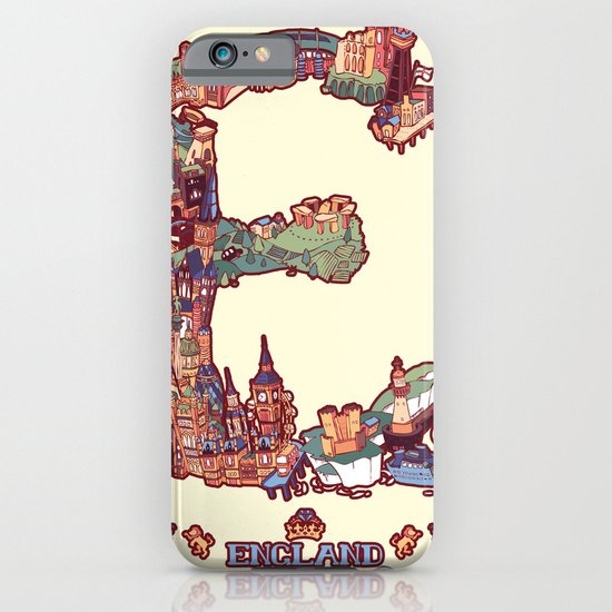 E is for England iPhone & iPod Case