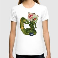anaconda T-shirts featuring Anaconda Buns by Artistic Dyslexia