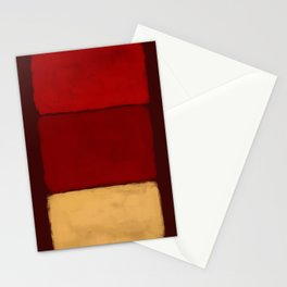 Rothko Inspired #28 Stationery Cards