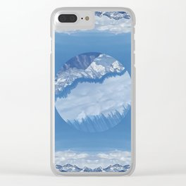 Centered Clear iPhone Case