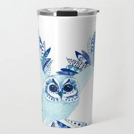 Aztec Owl Travel Mug