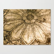 Stoned Garden Relic Canvas Print