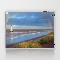 Rainbow and grass Laptop & iPad Skin