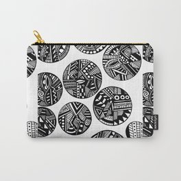 Tribal Bubbles Carry-All Pouch