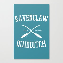 Hogwarts Quidditch Team: Ravenclaw Canvas Print