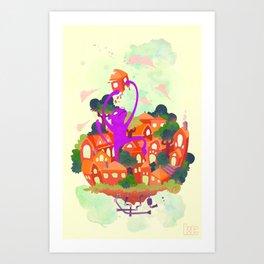 CIVICS 1 Art Print
