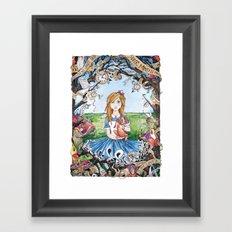 Just Ask Alice ..... Framed Art Print