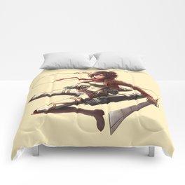 Mikasa Ackerman Great4 Comforters