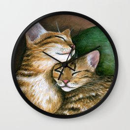 Cat 603 Wall Clock
