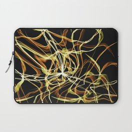 Hearts of Gold Warped Laptop Sleeve