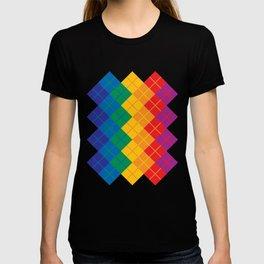Rainbow Argyle T-shirt