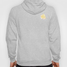 Blushing Yellow Rose Hoody