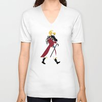 napoleon V-neck T-shirts featuring Napoleon Albalad by Sardine