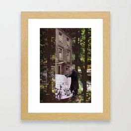 Forest Memorial Framed Art Print
