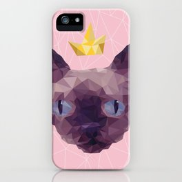 King Cat. iPhone Case