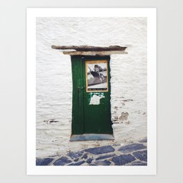 Dali door Art Print