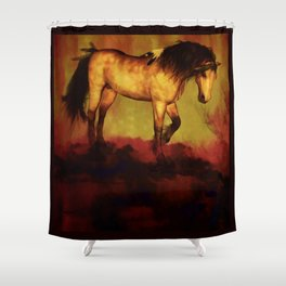 HORSE - Choctaw ridge Shower Curtain