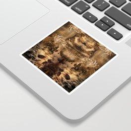 Magma Sticker