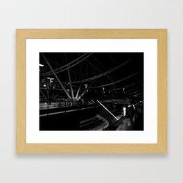 Underground 2 Framed Art Print