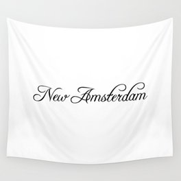 New Amsterdam Wall Tapestry