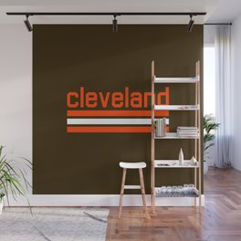 Cleveland Ohio Wall Mural
