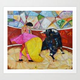 One Quite Un Quite Oil on Canvas Original Juan Manuel Rocha Kinkin Art Print