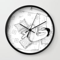 apollonia Wall Clocks featuring asc 547 - My New Year's resolutions - December by From Apollonia with Love