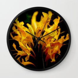 """Old Flame"" by ICA PAVON Wall Clock"