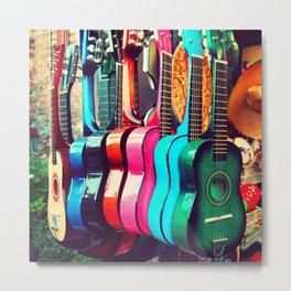 Guitar Photo Metal Print