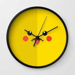 picachu Wall Clock