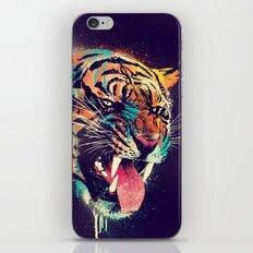 FEROCIOUS TIGER iPhone Skin