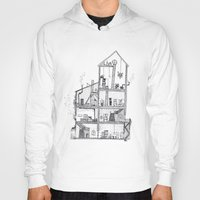home sweet home Hoodies featuring Home Sweet Home by Zorko
