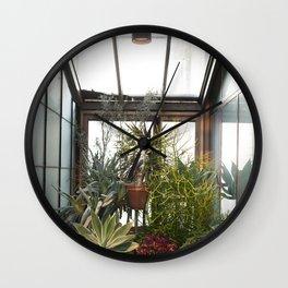 Plant Family Portrait Wall Clock