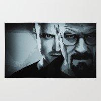 heisenberg Area & Throw Rugs featuring Heisenberg by ian hufton