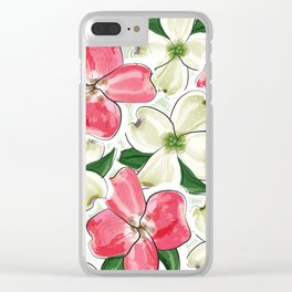 the dogwood Clear iPhone Case