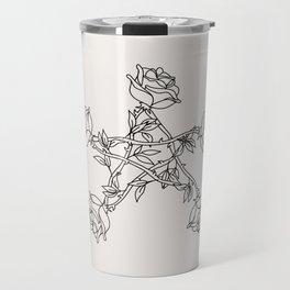 Rose Pentacle Travel Mug