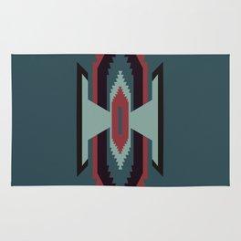 Southwestern Santa Fe Tribal Pattern Rug