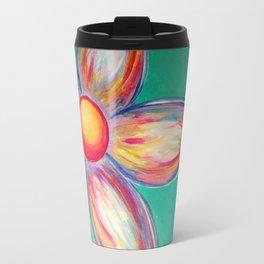 Multi Daisy Travel Mug
