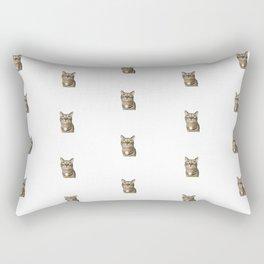 Polka Cat Original Rectangular Pillow