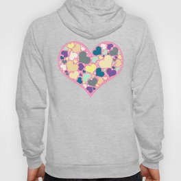 Hearts and Dots Hoody