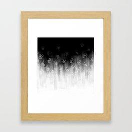 Terror White Hands Framed Art Print