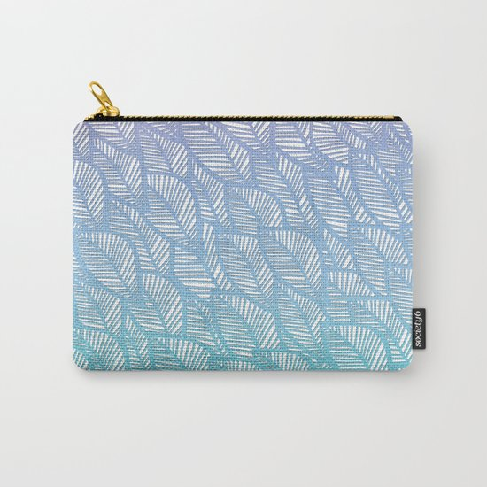 Leaves in Winter Carry-All Pouch