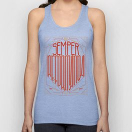 Semper Reformanda: Celebrating the 500th Anniversary of the Protestant Reformation Unisex Tank Top