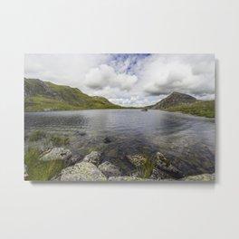 Lake Idwal Metal Print