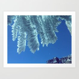 French Crystal Art Print