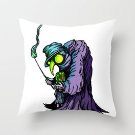 He Will See You Now Throw Pillow