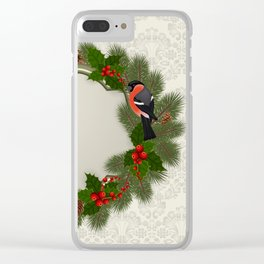 Christmas or New Year decoration Clear iPhone Case